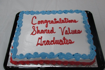 shared values cake