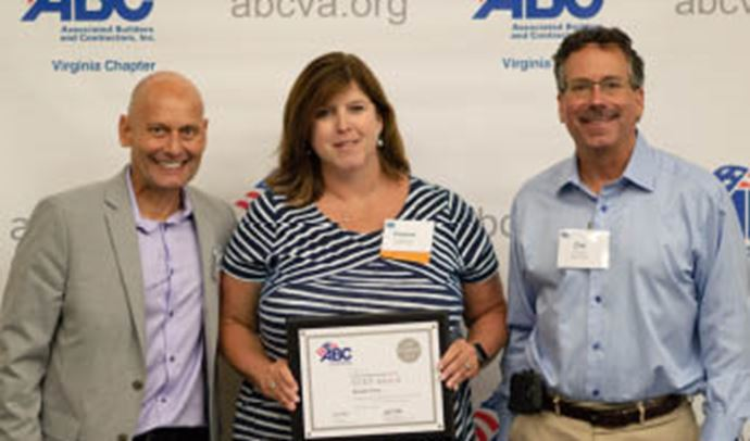 Damuth Trane Awarded Platinum Designation from ABC-VA's Safety Training & Evaluation Process (STEP) Program